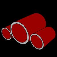 Трубы для винтовых свай и заборов