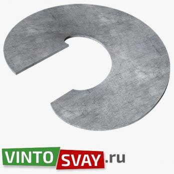 Купить Лопасть сваи D300/73 h5 (СТ3) гнутая для винтовой сваи с доставкой по России!