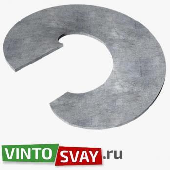 Купить Лопасть сваи D250/73 h5 (СТ3) гнутая для винтовой сваи с доставкой по России!
