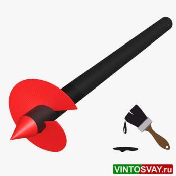 Винтовая свая ВСК(к)-114-4,5-350-5-СТ3
