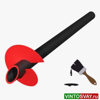 Винтовая свая ВСС(к)-114-2,5-350-5-СТ3