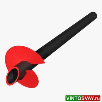 Винтовая свая ВСС-114-4-350-5-СТ3